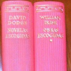 Libros de segunda mano: COLECCIÓN 'EL LINCE ASTUTO', DE AGUILAR: DAVID DODGE Y WILLIAM IRISH. Lote 53676849