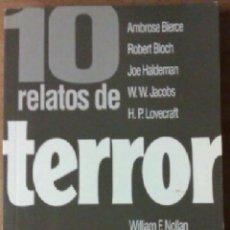 Libros de segunda mano: 10 RELATOS DE TERROR PLAZA AND JANES ---------(REF M1 E2). Lote 53684879
