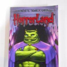 Libros de segunda mano: FUGA DE HORRORLAND. - STINE, R. L. Nº 11. HORRORLAND ATREVETE, TIEMBLA, GRITA. TDK3. Lote 53780751