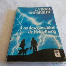 Libros de segunda mano: LOS DESCONOCIDOS DE HEIDELBERG. Lote 53820760