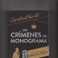 Libros de segunda mano: LOS CRÍMENES DEL MONOGRAMA - SOPHIE HANNAH / AGATHA CHRISTIE - ESPASA 2014. Lote 53828680