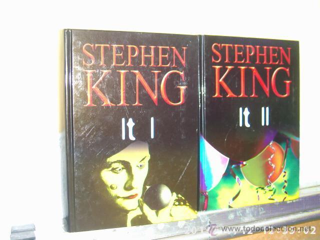 Libros De Terror Libros Y Literatura Stephen King It It Ii 2 Tomos Rba Comprar Libros