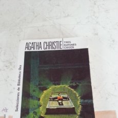 Libros de segunda mano: TRES RATONES CIEGOS - AGATHA CHRISTIE - EDITORIAL MOLINO. Lote 54370771