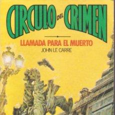 Libros de segunda mano: CIRCULO DEL CRIMEN -- 4 NOVELAS -- Nº1-4-6- Y61. Lote 55211239