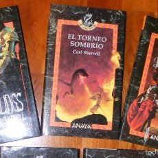 Libros de segunda mano: TRILOGÍA RAUM - CARL SHERRELL - ANAYA ÚLTIMA THULE. Lote 55808237