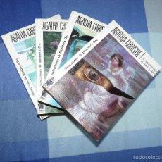 Libros de segunda mano: AGATHA CHRISTIE. BIBLIOTECA ORO. EDITORIAL MOLINO. LOTE 4 LIBROS. Lote 56485441