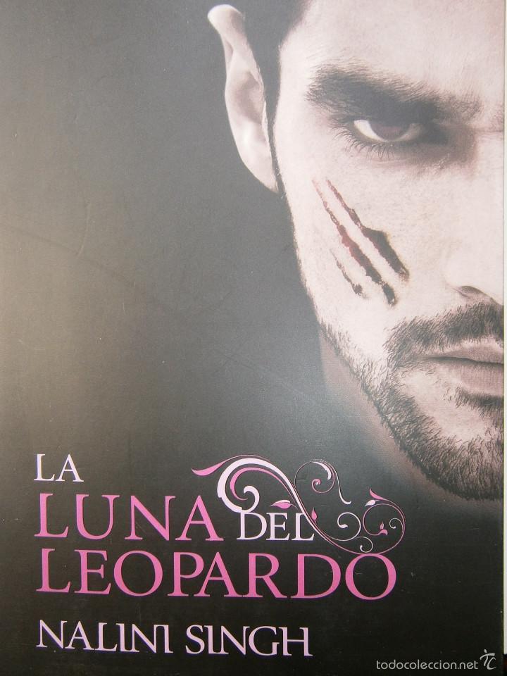 Libros de segunda mano: LA LUNA DEL LEOPARDO Nalini Singh 1 edicion 2012 - Foto 2 - 131550187