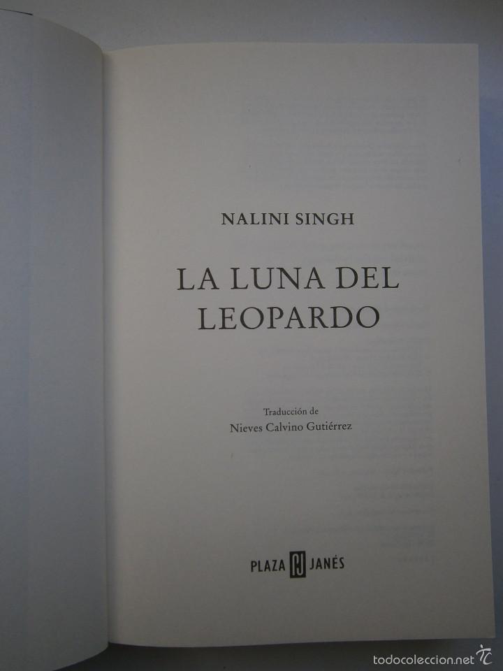Libros de segunda mano: LA LUNA DEL LEOPARDO Nalini Singh 1 edicion 2012 - Foto 8 - 131550187