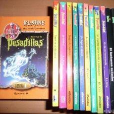 Libros de segunda mano: PESADILLAS. LOTE DE 16 LIBROS. Lote 57291194