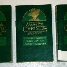 Libros de segunda mano: LOTE DE 9 NOVELAS POR AGATHA CHRISTIE 3T DE EDICIONES ORBIS EN BUENOS AIRES 1984. Lote 57556528
