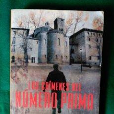 Libros de segunda mano: LOS CRIMENES DEL NUMERO PRIMO - REYES CALDERON - 572 PAGINAS. Lote 57559226