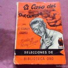 Libros de segunda mano: EL CASO DEL TARTAMUDO, POR E. STANLEY GARDNER,. Lote 57737715