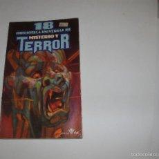 Libros de segunda mano: BIBLIOTECA UNIVERSAL DE MISTERIO Y TERROR. N° 18 - EDICIONES UVE 1981-. Lote 57767381