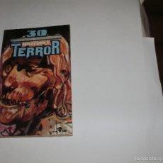 Libros de segunda mano: BIBLIOTECA UNIVERSAL DE MISTERIO Y TERROR. N° 30 - EDICIONES UVE 1981-. Lote 57767779
