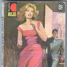 Libros de segunda mano: PUNTO ROJO Nº 1 - SILVER KANE - UN SOLO ATAUD - 1962 BRUGUERA - PETER FINCH FOTO. Lote 58207129