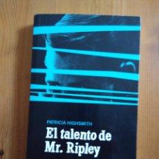 Libros de segunda mano: EL TALENTO DE MR. RIPLEY. Lote 58560696