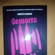 Libros de segunda mano: GOMORRA DEBATE ROBERTO SAVIANO PRIMERA EDICION. Lote 58895326