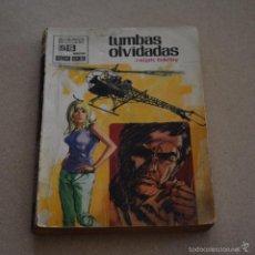 Livres d'occasion: TUMBAS OLVIDADAS. RALPH BARBY. SERVICIO SECRETO, Nº 1035. LITERACOMIC.. Lote 60265543