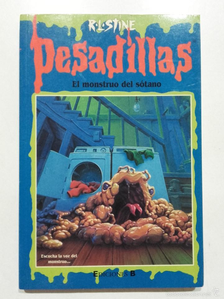 el monstruo del sotano - pesadillas nº 59 - r. - Comprar Libros de ...