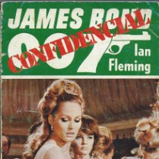 Libros de segunda mano: IAN FLEMING, JAMES BOND 007: CONFIDENCIAL: CINCO MOMENTOS SECRETOS EN LA VIDA DE JAMES BOND 007. Lote 61350050