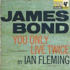 Libros de segunda mano: IAN FLEMING, JAMES BOND 007:YOU ONLY LIVE TWICE (EN INGLÉS). PAN BOOKS, LONDON, 3ª EDICIÓN 1966. Lote 61391827