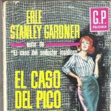 Libros de segunda mano: ANTIGUA NOVELA POLICIACA. Nº 231. EL CASO DEL PICO DE PARTIR HIELO. ERLE STANLEY G. EDIC. G. P. 1964. Lote 61483851