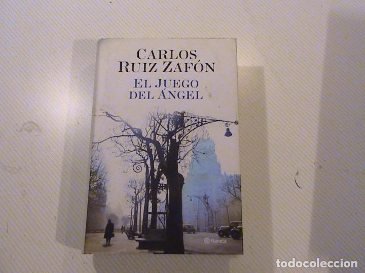 El juego del Angel (autor: Carlos Ruiz Zafón)