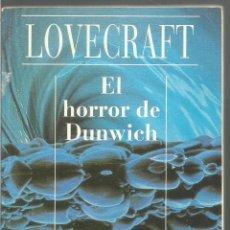 Libros de segunda mano: H.P. LOVECRAFT. EL HORROR DE DUNWICH. ALIANZA CIEN. Lote 122040071