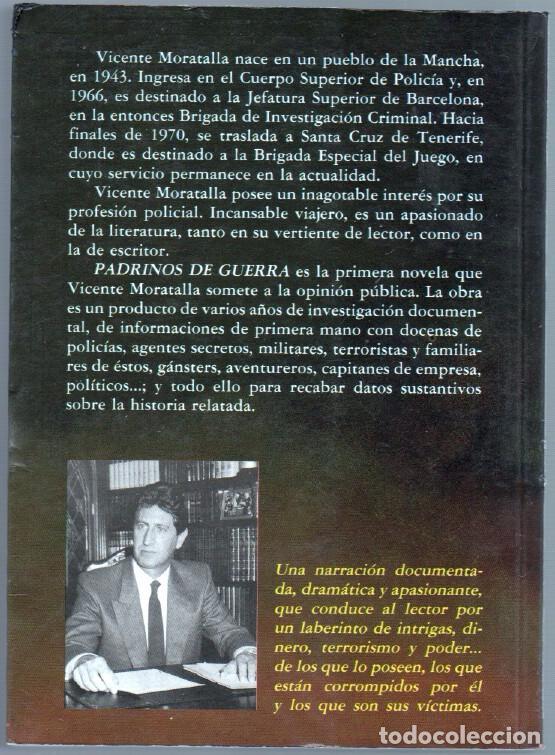 Libros de segunda mano: PADRINOS DE GUERRA por VICENTE MORATALLA - EDI. AURA 1987 -EXCELENTE ESTADO - Foto 2 - 63113216