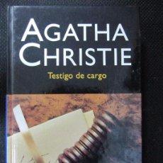 Libros de segunda mano: TESTIGO DE CARGO. AGATHA CHRISTIE. EDITORIAL MOLINO. 177 PAGINAS. Lote 63161512