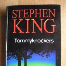 Libros de segunda mano: TOMMYKNOCKERS, DE STEPHEN KING RBA TAPA DURA - POSIBILIDAD DE ENTREGA EN MANO EN MADRID. Lote 63367508