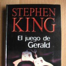 Libros de segunda mano: EL JUEGO DE GERALD, DE STEPHEN KING RBA TAPA DURA - POSIBILIDAD DE ENTREGA EN MANO EN MADRID. Lote 63368316
