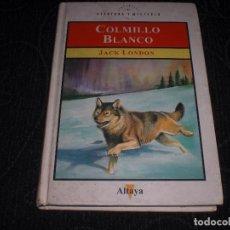 Libros de segunda mano: LIBRO LIBRERIA COLMILLO BLANCO ALTAYA JACK LONDON LOBO WHITE FANG BOOK ANAYA. Lote 64373087