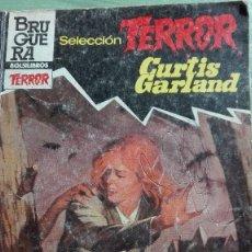 Libros de segunda mano: NOVELA DE BOLSILLO BRUGUERA SELECCIÓN TERROR DEDOS ASESINOS. Lote 64409119