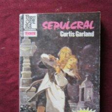 Libros de segunda mano: SELECCIÓN TERROR Nº 603 SEPULCRAL CURTIS GARLAND BOLSILIBROS BRUGUERA 1985 TEBENI. Lote 64855179