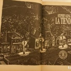 Libros de segunda mano: LA TIENDA DE STEPHEN KING EDICIONES B PRIMERA EDICIÓN 1992 CON ALGUNAS ILUSTRACIONES . Lote 66282478