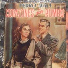 Libros de segunda mano: CORAZONES SIN RUMBO - PEDRO MATA - EDITORIAL TESORO , EDICIONES S XX - 1951 TAPA JANO. Lote 67337945