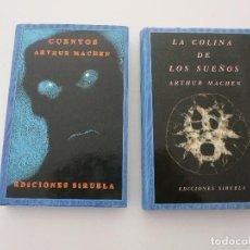 Libros de segunda mano: SIRUELA OJO SIN PARPADO ARTHUR MACHEN CUENTOS (SOLO UN LIBRO). Lote 92449443