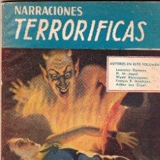 Libros de segunda mano: NARRACIONES TERRORÍFICAS Nº 66 ED. MOLINO. LA LOCURA DEL PANTANO.. Lote 69643461