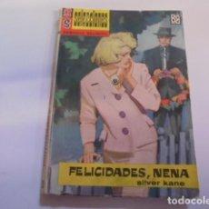 Libros de segunda mano: SELECCIONES SERVICIO SECRETO 37 - SILVER KANE / FELICIDADES NENA - 1963 BRUGUERA - MUY BUEN ESTADO. Lote 69656313