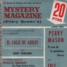 Libros de segunda mano: MYSTERY MAGAZINE ELLERY QUEEN JUNIO 1963 Nº 1. Lote 70139001
