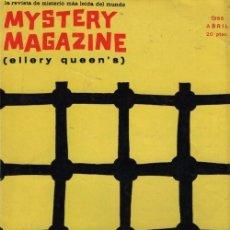 Libros de segunda mano: MYSTERY MAGAZINE ELLERY QUEEN ABRIL 1966. Lote 70141965