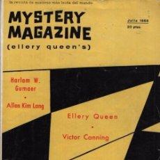 Libros de segunda mano: MYSTERY MAGAZINE ELLERY QUEEN JULIO 1966. Lote 70142105