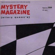 Libros de segunda mano: MYSTERY MAGAZINE ELLERY QUEEN AGOSTO 1966. Lote 70142181