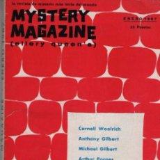 Libros de segunda mano: MYSTERY MAGAZINE ELLERY QUEEN ENERO 1967. Lote 70142429