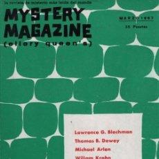 Libros de segunda mano: MYSTERY MAGAZINE ELLERY QUEEN MARZO 1967. Lote 70142541