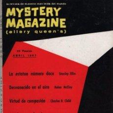 Libros de segunda mano: MYSTERY MAGAZINE ELLERY QUEEN ABRIL 1967. Lote 70142685