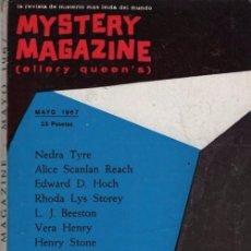 Libros de segunda mano: MYSTERY MAGAZINE ELLERY QUEEN MAYO 1967. Lote 70142837