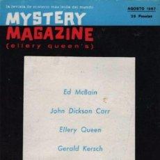 Libros de segunda mano: MYSTERY MAGAZINE ELLERY QUEEN AGOSTO 1967. Lote 70142933