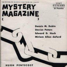 Libros de segunda mano: MYSTERY MAGAZINE ELLERY QUEEN OCTUBRE 1967. Lote 70142993